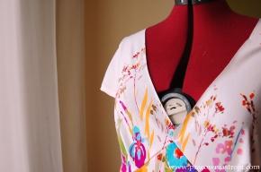 Wszywanie podszewki do sukienki(cz.1)