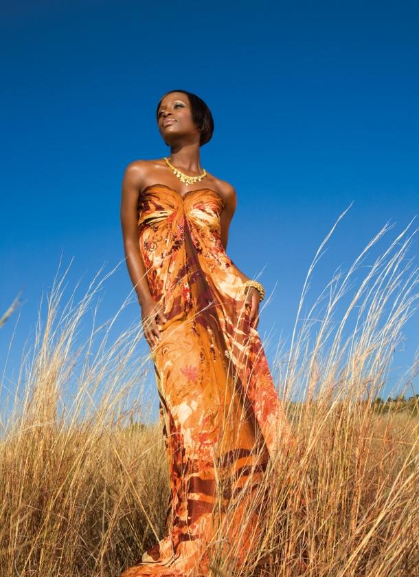 Safari Fashion with Hlubi Mboya (Isidingo)