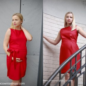 Sukienka, która rośnie przez 9miesięcy