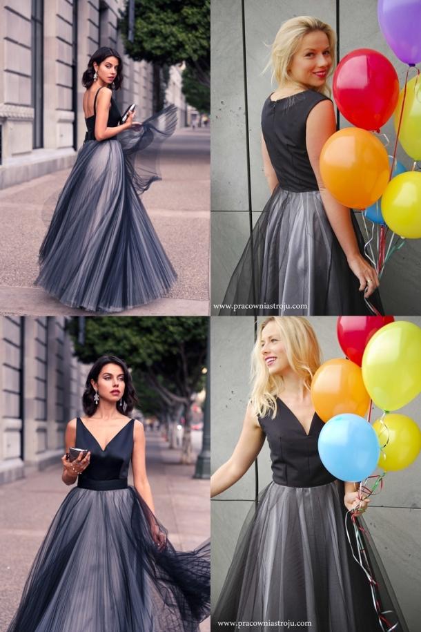 4 zdjęcia porównanie balowych