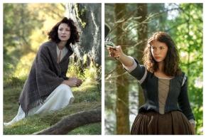 Sukienka w surowej Szkocji XVIIIwieku