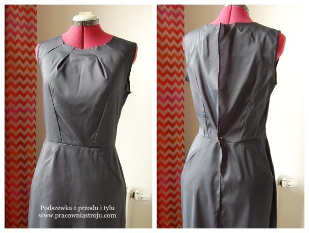 2 podszewka w sukience
