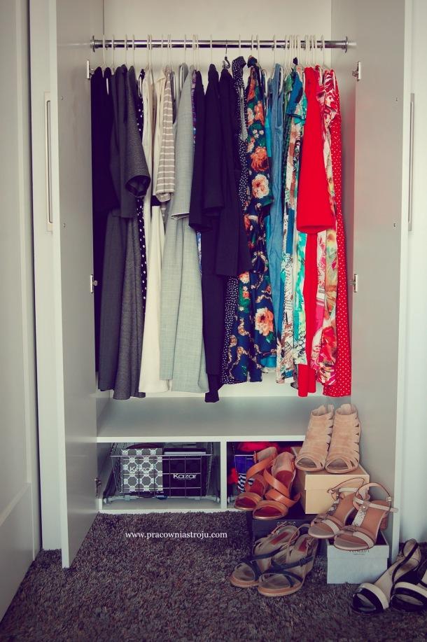 30 sukienek. moja szafa