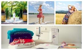 Skąd brać pomysły na letnie sukienki?… i jak je późniejrealizować?