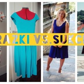 Koszt eksperymentów krawieckich: ile sukienek to sukcesy, a ileporażki?