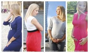 Czy warto szyć ubraniaciążowe?